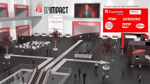 Virtuelle Event Umgebung_Eingang