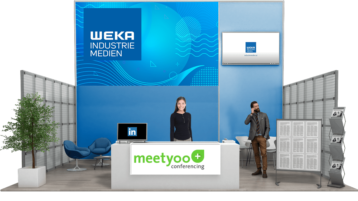 WEKA Industrie Medien Messestand